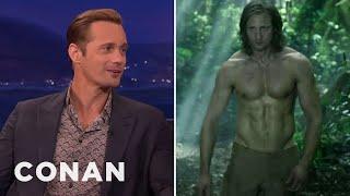 Alexander Skarsgards Insane Diet To Get Jacked As Tarzan  - CONAN On TBS