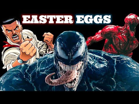 Venom Easter Eggs + End Credits Explained