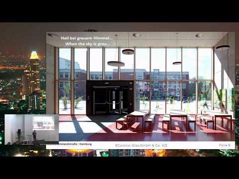 Schaltbare Verglasungen für komfortable und energieeffiziente Gebäude
