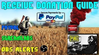 How to Setup and Receive Donation on Stream with OBS and Streamlabs