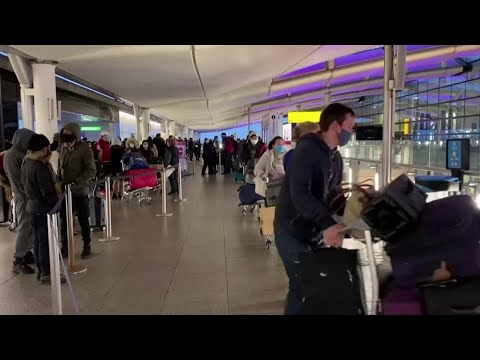 U.S. won't require COVID tests for UK travelers, sources say
