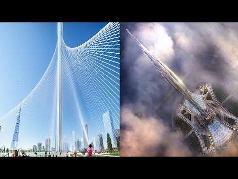 Dubai Creek Tower Mega Project : UAE Constructing The World Tallest Skyscraper(1300M): Dubai 2021