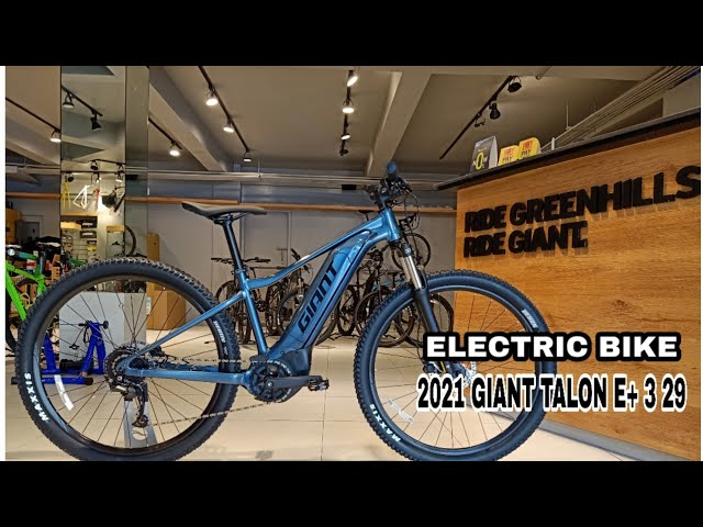 Видео Велосипед Giant Talon E+ 3 29er Blue Ashes