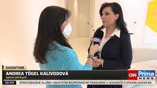 Andrea Kalivodová – modelácie pŕs (CNN Prima)