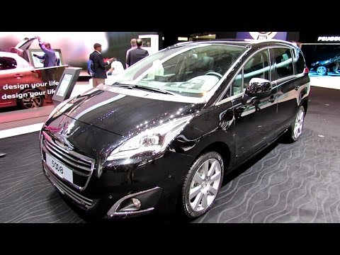 2014 Peugeot 5008 Allure - Exterior and Interior Walkaround - 2014 Geneva Motor Show