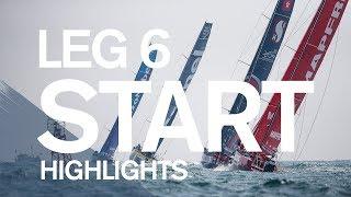 VOR: Brief highlights video of HKG-AKL Leg 6 start