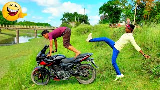 Must Watch Top New Comedy Video 2020_Very Funny Stupid Boys_Try Not To Laugh | Epi-127|#Pooryoutuber