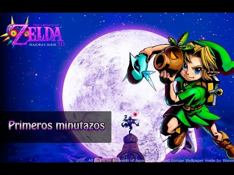 Primeros Minutazos - The Legend of Zelda: Majora's Mask 3D
