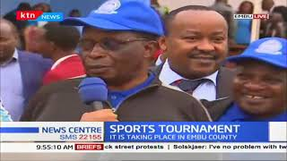 Interior CS Fred Matiang\' i to preside over the opening of the water company sports tournament