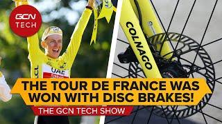 Tadej Pogačar venceu o Tour de France de 2021 com freios a disco ?!   GCN Tech Show ep.187