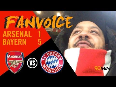 Bayern Munich destroy Arsenal again! | Arsenal 1-5 Bayern | Troopz Meltdown | 90min FanVoice