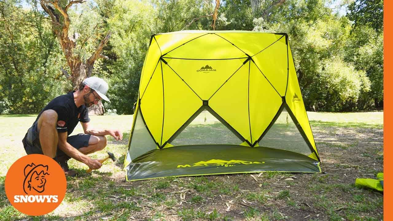 Malamoo 4-Hub Beach Shelter