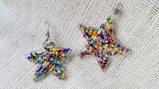 How To Create Beaded Star Ornaments - DIY Crafts Tutorial - Guidecentral