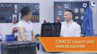 CIMCO | Werkzeugkoffer GIGANT SERIE