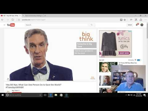 Bill Nye Encourages Students To Spread Global Warming Scam?