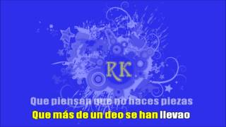 Estopa - Pastillas de freno [Karaoke][Ramsdell]
