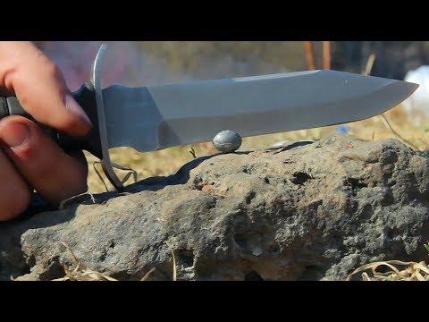 Нож разведчика против Свинца