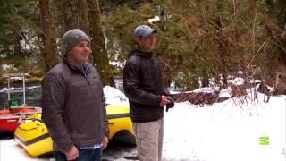 The Best Bigfootage: Peeping Bigfoot On A Riverbank In Oregon?