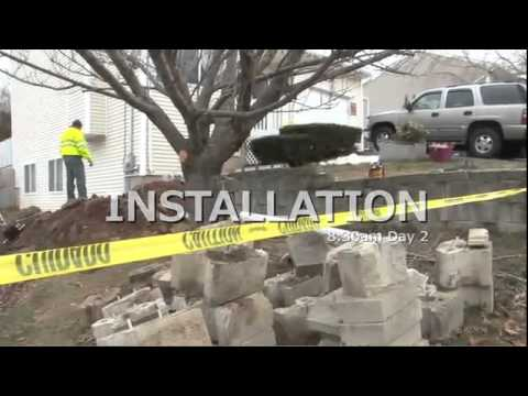 Foundation Settlement Repair in East Haven,...