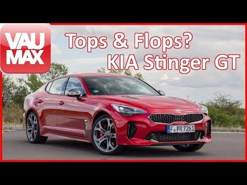 Endlich im Stinger-Club - Tops & Flops des KIA Stinger GT   3.3-Liter-V6 Benziner?