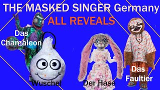 The Masked Singer Germany   SEASON 2   All Reveals