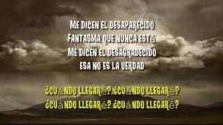Manu Chao -  Desaparecido CON LETRA