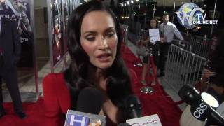 Megan Fox interview at Film Premiere of Jonah Hex in Hollywood