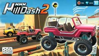 Машинки гонки игры новые игры 2018 прохождение на андроид Hill Dash 2
