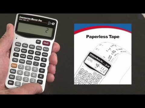 Construction Master Pro - Paperless Tape