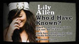 Lily Allen | Who'd Have Known? (Official Audio)