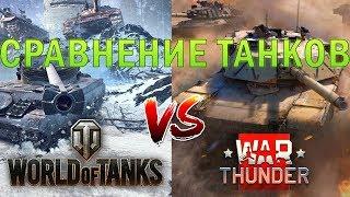 World of Tanks vs War Thunder | СРАВНЕНИЕ ТАНКОВ (2018)