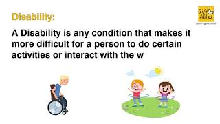 Differences between Impairment, Disability and Handicap