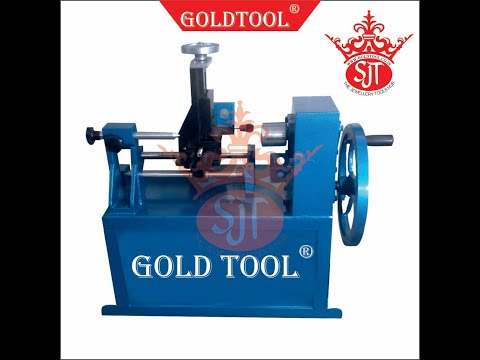 Gold Tool ISO 9001 2015 Jewelry Bangle Hollow Tube Forming Machines