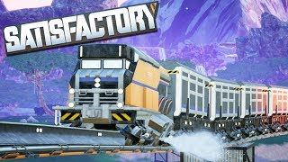 [LIVE🔴] FIRST LOOK | NEW Trains, Nuclear Power | Satisfactory Factory Building Simulator Gameplay