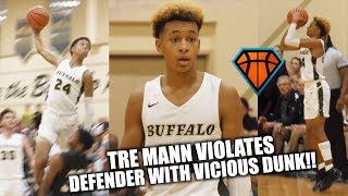 Tre Mann VIOLATES Defender on His Way to a 35-Piece!! | Baby Steph with Bounce??