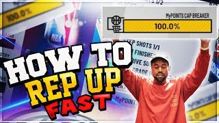 Fastest Way To Rep Up In NBA 2K19! Get To 90 OVR in One Day! 30,000+ MyPoints Per Game!