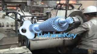 preview picture of video 'TurbineKey Solution™ GEARBOX- LASER ALIGNMENT GDF SUEZ Power Plant, West Windsor Canada'