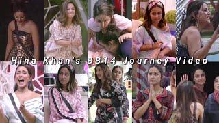 Hina Khan's Big Boss 14 Journey Video