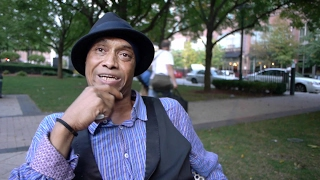Homeless man has two master degrees and is a licensed teacher.