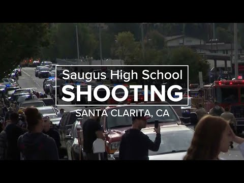 Multiple people injured and suspect in custody after shooting at Saugus High School in Santa Clarita