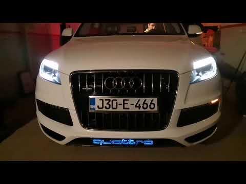 Audi Q7 Custom dynamic turn signal and Led Logo rgb wifi