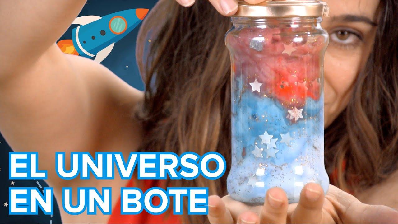 Cómo meter el universo en un frasco de cristal | Manualidad infantil