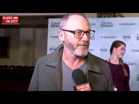 Game of Thrones Davos Seaworth Interview - Liam Cunningham | MTW