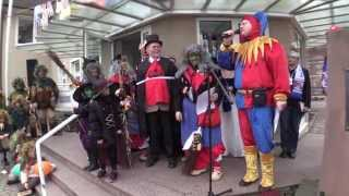 preview picture of video 'Germany Trip 2014 - Altweiberfastnacht with the HCC in Hügelsheim'