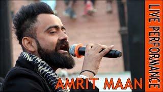 Amrit Maan Live Performance  Kauni Sri Muktsar Sahib Latest Punjabi Songs 2017