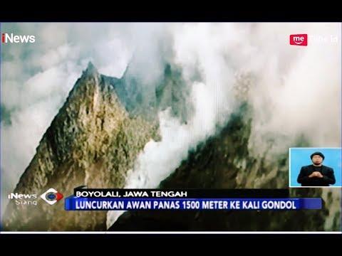 Gunung Merapi Luncurkan Awan Panas 1.500 Meter ke Kali Gondol - iNews Siang 28/03