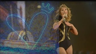 Taylor Swift King of my Heart #AT&T Stadium, Arlington