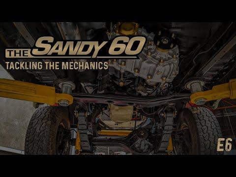 The Sandy 60   Tackling the mechanics (60 Series Build)