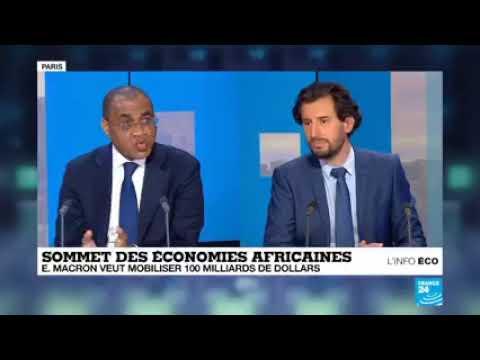 """Le Ministre de l'Économie et des Finances, M. Adama COULIBALY, invité de """"L'Info éco"""".France 24"""