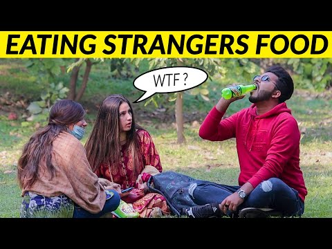 Eating Strangers Food Prank Gone Wrong - Part 2 - Lahori PrankStar